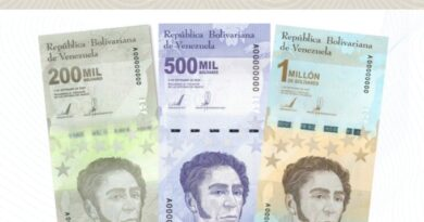 Billete de 1 millón: el Banco Central de Venezuela amplió el cono monetario.