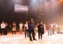 Presidente Nicolás Maduro disfruta de la obra musical Invicto en el TTC